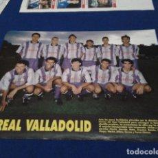 Coleccionismo deportivo: MINI POSTER DON BALON 1993 - 94 ( REAL VALLADOLID ) TEMPORADA 93 - 94 NUEVO . Lote 155164734