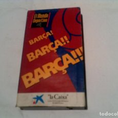 Coleccionismo deportivo: VIDEO BARÇA BARÇA BARÇA DEL MUNDO DEPORTIVO. Lote 155414662