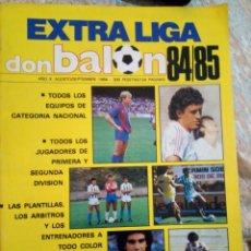 Coleccionismo deportivo: EXTRA LIGA DON BALON 84/85. Lote 155469882