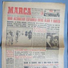 Coleccionismo deportivo: PERIODICO. MARCA. TOUR FRANCIA. BAHAMONTES. 1 JULIO 1959. Lote 155516534