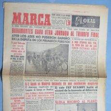 Coleccionismo deportivo: PERIODICO. MARCA. TOUR FRANCIA. VICTORIA ETAPA BAHAMONTES. 17 JULIO 1959 . Lote 155516662
