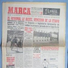 Coleccionismo deportivo: PERIODICO. MARCA. TOUR FRANCIA. BAHAMONTES PRIMERO MONTAÑA. 10 JULIO 1959 . Lote 155516806