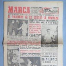 Coleccionismo deportivo: PERIODICO. MARCA. TOUR FRANCIA. BAHAMONTES GANADOR MONTAÑA. 16 JULIO 1959 . Lote 155516918
