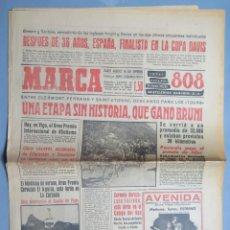 Coleccionismo deportivo: PERIODICO. MARCA. TOUR FRANCIA. BAHAMONTES. 12 JULIO 1959 . Lote 155517366
