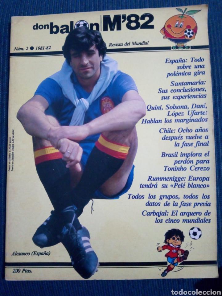 DON BALON M82 Nº 2 MUNDIAL 82 (Coleccionismo Deportivo - Revistas y Periódicos - Don Balón)