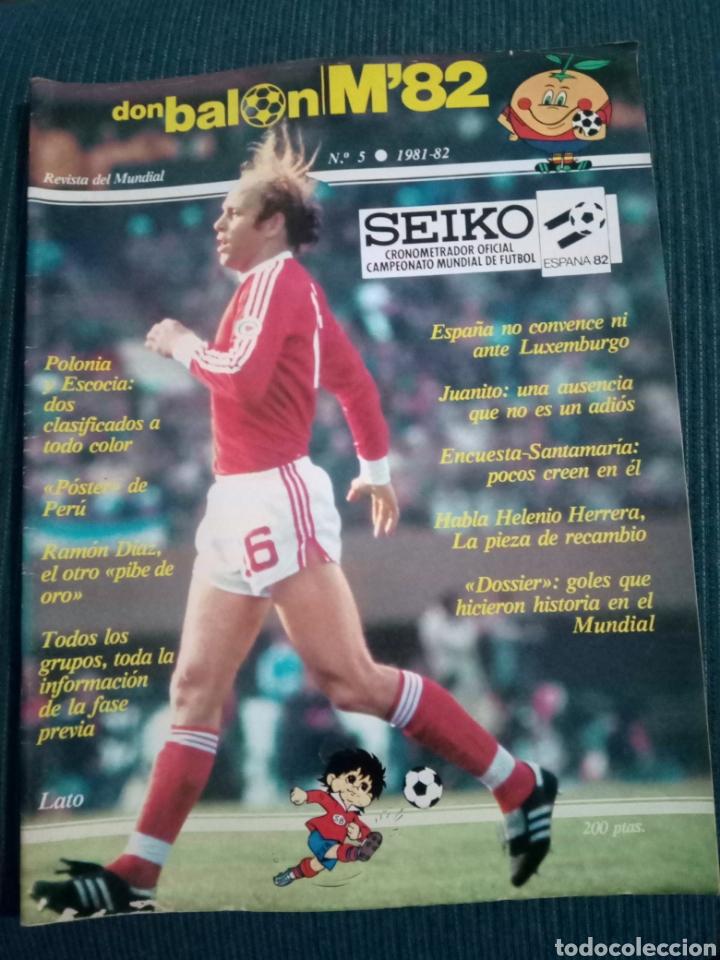 DON BALON M82 Nº 5 MUNDIAL 82 (Coleccionismo Deportivo - Revistas y Periódicos - Don Balón)