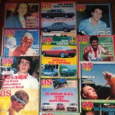 Coleccionismo deportivo: AS COLOR LOTE DE 155 NUMEROS - DE 1987 A 1992 - HISTORIA DEL DEPORTE: FUTBOL, MOTOR, BOXEO, CICLISMO. Lote 155657962
