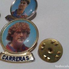 Coleccionismo deportivo: PIN F.C. BARCELONA DIARIO SPORT ( CARRERAS ) LINEA F.C.B. DE LOS 90. Lote 155711414