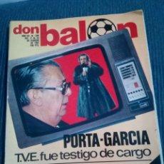 Collezionismo sportivo: DON BALON 280 PORTA GARCIA. Lote 155732434