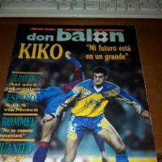 Coleccionismo deportivo: DON BALÓN 845. ENERO DE 1992. Lote 155851992
