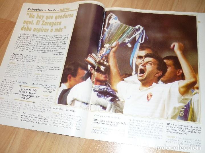 Coleccionismo deportivo: DON BALON N' 1023 1995 BARCELONA MADRID ESPECIAL BUTRAGUEÑO ENTREVISTA NAYIM ZARAGOZA - Foto 3 - 155922966