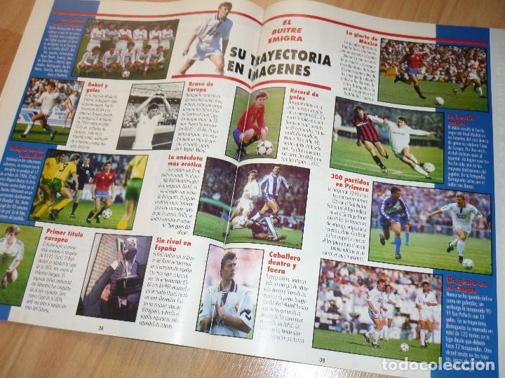 Coleccionismo deportivo: DON BALON N' 1023 1995 BARCELONA MADRID ESPECIAL BUTRAGUEÑO ENTREVISTA NAYIM ZARAGOZA - Foto 2 - 155922966