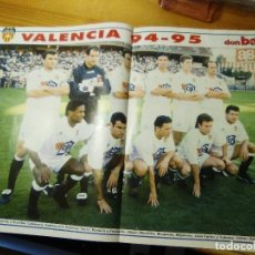 Coleccionismo deportivo: POSTER DON BALON VALENCIA CF 94.95. Lote 155924310