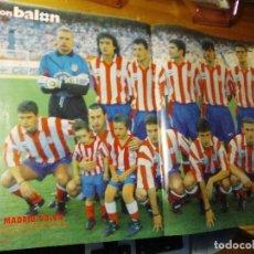Coleccionismo deportivo - POSTER DON BALON ATLETICO DE MADRID 93.94 - 155924430