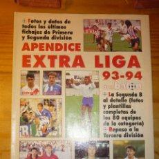 Coleccionismo deportivo: EXTRA LIGA DON BALON APENDICE 93.94. Lote 155940250