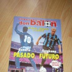 Coleccionismo deportivo: REVISTA DON BALON N' 1005 1995 ROMARIO BERGKAMP SEVILLA BETIS POSTER ATHLETIC CLUB. Lote 155958874