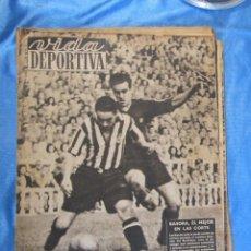 Coleccionismo deportivo: LOTE DE 165 EJEMPLARES DE VIDA DEPORTIVA ENTRE 1948 Y 1958.. Lote 156058286
