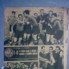 Coleccionismo deportivo: 1944 DIARIO MARCA Nº 74 FERROL ASCIENDE SELECCION CATALANA ALTOS HORNOS CAMPEON. Lote 156207310
