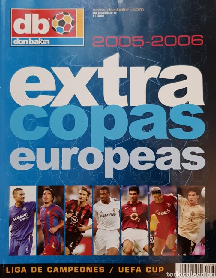 REVISTA DON BALÓN EXTRA COPAS EUROPEAS 2005-2006. (Coleccionismo Deportivo - Revistas y Periódicos - Don Balón)