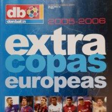 Coleccionismo deportivo: REVISTA DON BALÓN EXTRA COPAS EUROPEAS 2005-2006.. Lote 156543345