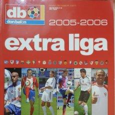Coleccionismo deportivo: REVISTA DON BALÓN EXTRA LIGA 2005-2006.. Lote 156543753