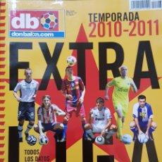 Coleccionismo deportivo: REVISTA DON BALÓN EXTRA LIGA 2010-2011. Lote 156546421