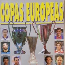 Coleccionismo deportivo: REVISTA DON BALÓN COPAS EUROPEAS 1998-99.. Lote 156550124