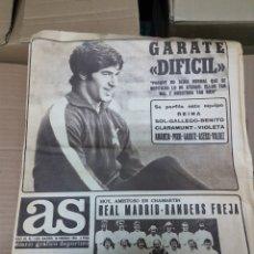 Coleccionismo deportivo: ANTIGUO DIARIO AS. Lote 156919868