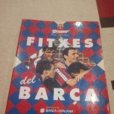Coleccionismo deportivo: LES FITXES DEL BARÇA - LAS FICHAS DEL BARCELONA - SPORT 35 DIFERENTES.. Lote 156925058
