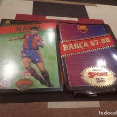 Colecionismo desportivo: COLECCIÓN SPORT POSTALES GIGANTES - 9 DIFERENTES + CARPETA. 1997-1998 - 97 - 98. Lote 242282680