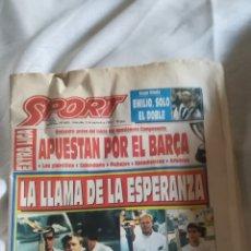 Coleccionismo deportivo - Periódico Sport N 4600 - 156984837