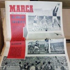 Coleccionismo deportivo: DIARIO MARCA EL GOL DE IRIBAR. Lote 156990230