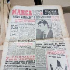 Coleccionismo deportivo: LOTE ANTIGUOS DIARIOS MARCA. Lote 156992352