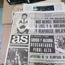 Coleccionismo deportivo: ANTIGUO DIARIO AS. Lote 156999153