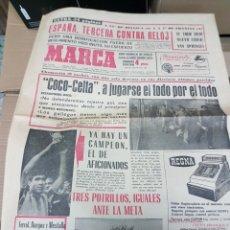 Coleccionismo deportivo: ANTIGUO DIARIO MARCA. Lote 156999236