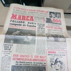 Coleccionismo deportivo: ANTIGUO DIARIO MARCA. Lote 156999616