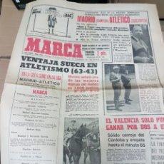 Coleccionismo deportivo: ANTIGUO DIARIO MARCA. Lote 156999729