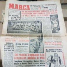 Coleccionismo deportivo: ANTIGUO DIARIO MARCA. Lote 156999833