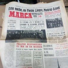 Coleccionismo deportivo: ANTIGUO DIARIO MARCA. Lote 157000228