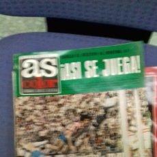 Coleccionismo deportivo: ANTIGUA REVISTA AS. Lote 157007906