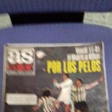 Coleccionismo deportivo: ANTIGUA REVISTA AS. Lote 157008774