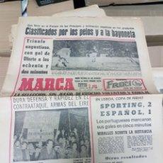 Coleccionismo deportivo: ANTIGUO DIARIO MARCA. Lote 157136576