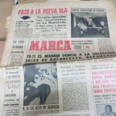 Coleccionismo deportivo: ANTIGUO DIARIO MARCA. Lote 157136737