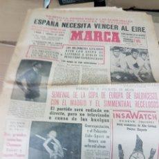Coleccionismo deportivo: ANTIGUO DIARIO MARCA. Lote 157136898