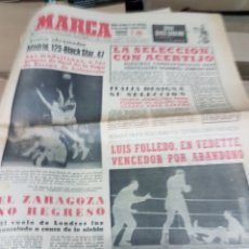 Coleccionismo deportivo: ANTIGUO DIARIO MARCA. Lote 157136950