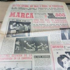 Coleccionismo deportivo: ANTIGUO DIARIO MARCA. Lote 157137006