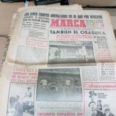 Coleccionismo deportivo: ANTIGUO DIARIO MARCA. Lote 157137040