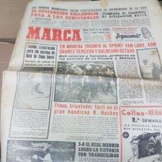 Coleccionismo deportivo: ANTIGUO DIARIO MARCA. Lote 157137188