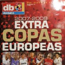Coleccionismo deportivo: REVISTA DON BALÓN EXTRA COPAS EUROPEAS 2007-08. Lote 157139836