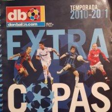 Coleccionismo deportivo: REVISTA DON BALÓN EXTRA COPAS EUROPEAS 2010-11. Lote 157139888